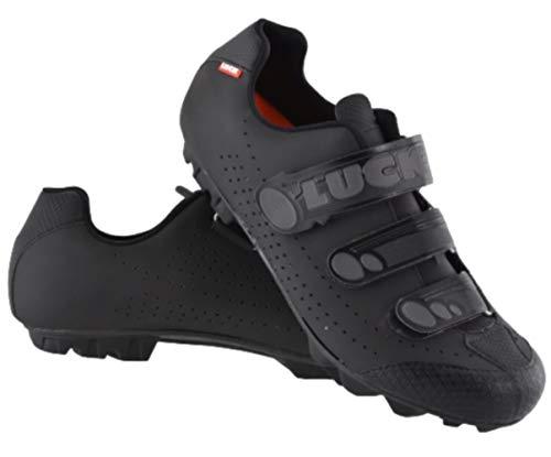 LUCK Zapatillas de Ciclismo Matrix Revolution MTB, con una estupenda Suela de Carbono Muy...