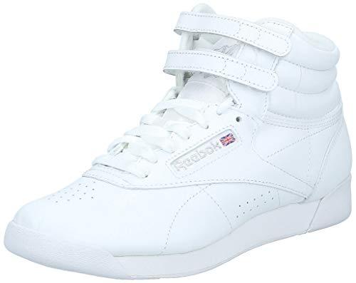 Reebok Free Style Hi, Zapatillas de Deporte para Mujer, Blanco Weiß, 40.5 EU