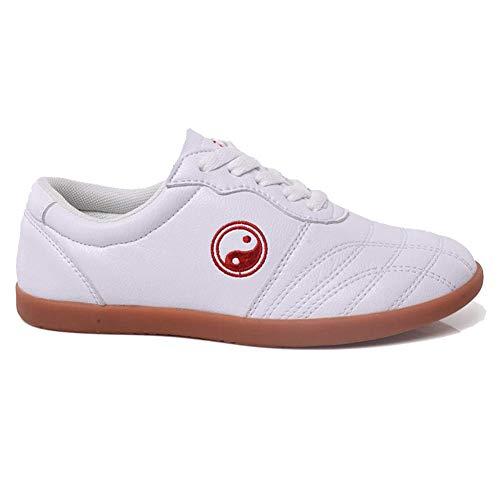 Zapatillas de Taekwondo Cómodos Antideslizantes Zapatillas Deportivos de Taekwondo Kung Fu Tai...