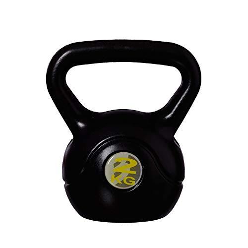 BONUS ET SALVUS TIBI (BEST) Mejor Deporte Kettle Bell - Negro, 2 kg