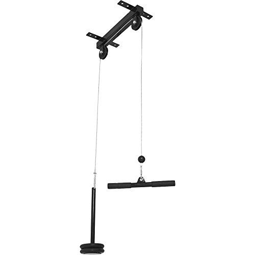 Gorilla Sports 10000293 - Soporte de Techo para Entrenamiento de bíceps y dorsales