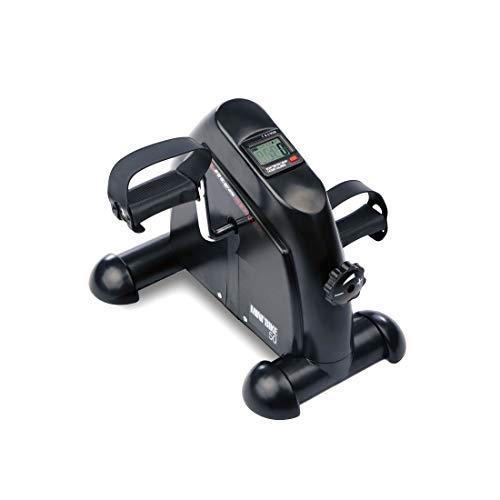 Ultrasport Minibicicleta para el entrenamiento de brazos y piernas, mini home trainer, con asa...