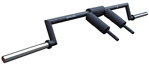 Riot Olympia de Safety Squat Bar – Natural moldeada Mango unidades