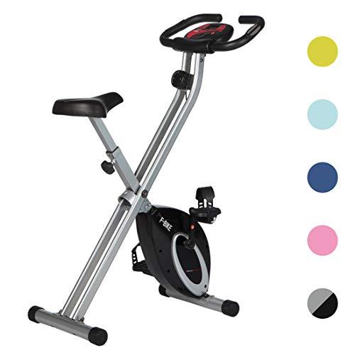 Ultrasport F-Bike Bicicleta estática de Fitness, Aparato doméstico, Plegable con Consola y...