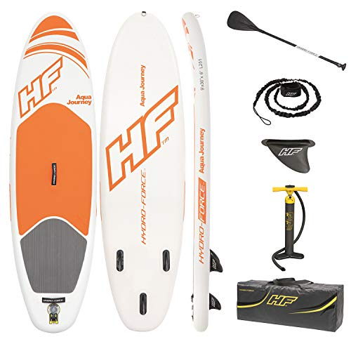 Bestway 65302 - Tabla Paddle Surf Hinchable Hydro-Force Aqua Journey 274x76x12 cm Con Bomba y...