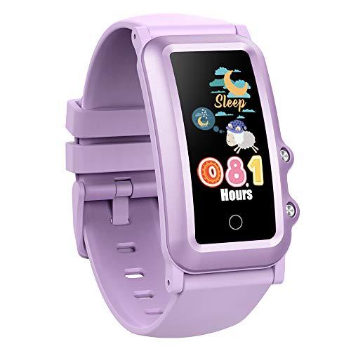 AUPALLA Pulsera de Actividad Niños, Reloj Inteligente Fitness Tracker con Podómetro,...