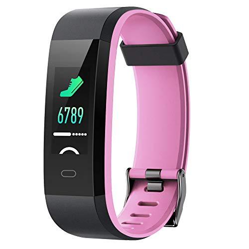 Willful Pulsera Actividad, Pulsera Actividad Inteligente Pantalla Color Reloj con Pulsómetro...