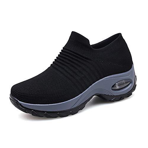 Zapatillas Deportivas de Mujer Gimnasio Zapatos Running Deportivos Fitness Correr Casual Ligero...