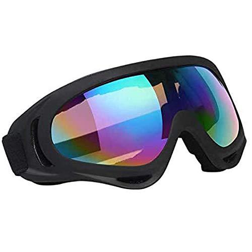 Vicloon Gafas de Nieve a Prueba de Viento UV400 Ciclismo Moto Snowmobile Ski Goggles Eyewear...