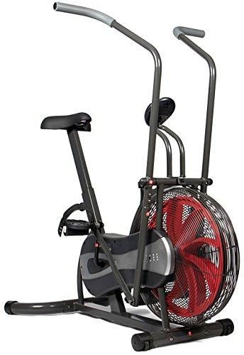 SportPlus SP-FB-1000 Bicicleta estática con Resistencia de Aire-Función Brazos Bicicleta...