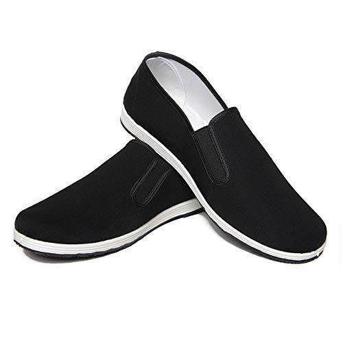 Zapatos de Artes Marciales Unisex Zapatos Chinos de Kung Fu Zapatos Antiguos de Tai Chi de...