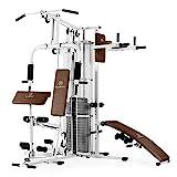 Klarfit Ultimate Gym 5000 White Edition - Máquina de Gimnasio, Estación multifunción,...