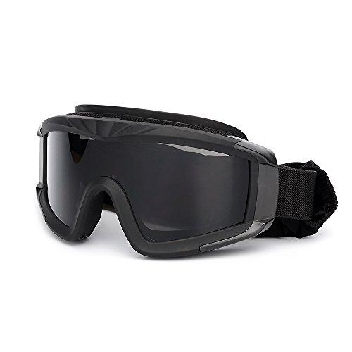 KKmoon Gafas de protección a prueba de viento para Militar Airsoft Táctico Gafas de Moto...