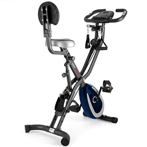 Ultrasport F-Bike 400BS Bicicleta estática Plegable, tracción, Pantalla y App, F-Bike 400BS...