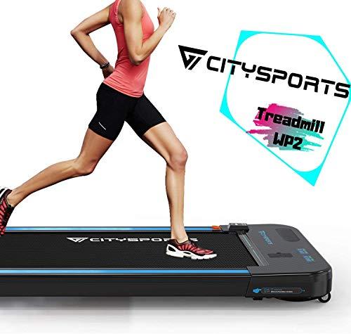 CITYSPORTS Cinta de Correr Caminar Eléctrica Motor 440W, Altavoces Bluetooth, Velocidad...