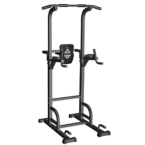 Sportsroyals Power Tower Dip Station Pull Up Bar for Home Gym Strength Training Workout...