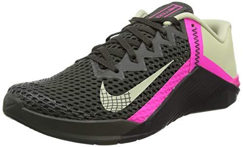 Nike Metcon 6, Botas de fútbol. Hombre, Newsprint Veranda Pink Blast Veranda, 42 EU