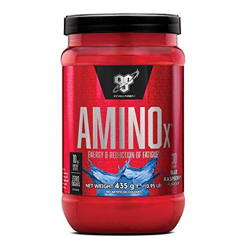 BSN Nutrition Amino X, Suplementos Deportivos BCAA Polvo con Aminoacidos Esenciales y Vitamina...