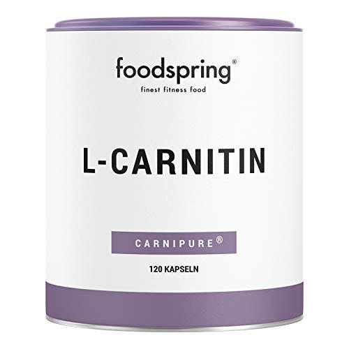 foodspring - L-carnitina - El suplemento de apoyo para la pérdida de peso - Transforma la...