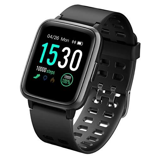 LATEC Pulsera Actividad Reloj Inteligente Impermeable IP68 Smartwatch Pantalla Táctil Completa...