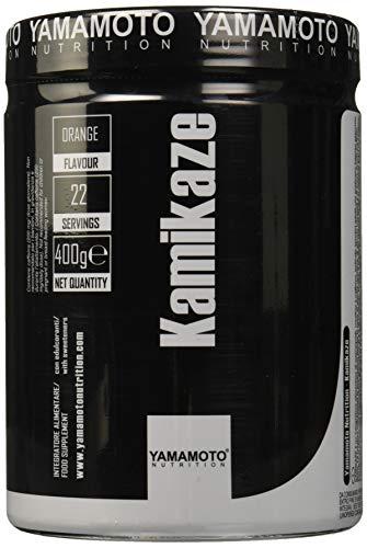 Yamamoto Nutrition Kamikaze Suplemento Pre Entrenamiento, Naranja - 400 gr