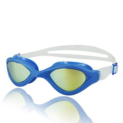 Barracuda Gafas de Natación Goggles de una sola pieza Lentes de Espejo Antiniebla Protección...