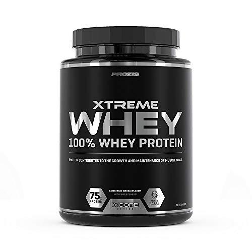 Prozis Xtreme Whey Protein SS Aumenta el Crecimiento y el Mantenimiento de la Masa Muscular,...