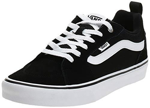 Vans Filmore, Sneaker para Hombre, Negro ((Suede/Canvas) Black/White Iju), 41 EU