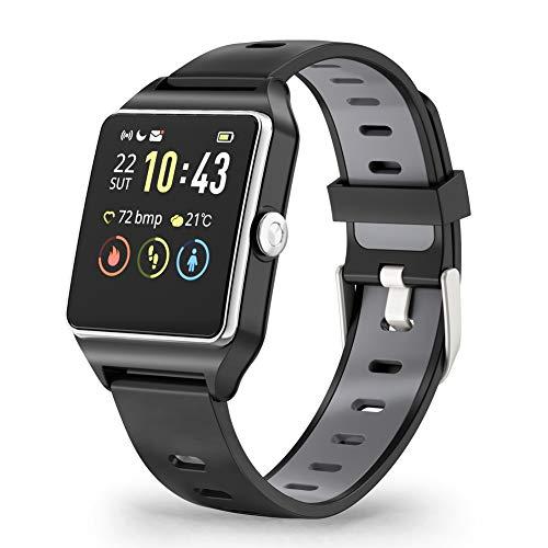 Reloj Inteligente, Smartwatch GPS Hombre y Mujer Pulsera Actividad Inteligent Deportivo...