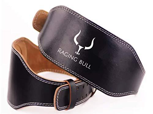 Raging Bull Cinturon Lumbar Gimnasio Hombre y Mujer, para Peso Musculacion, Halterofilia,...