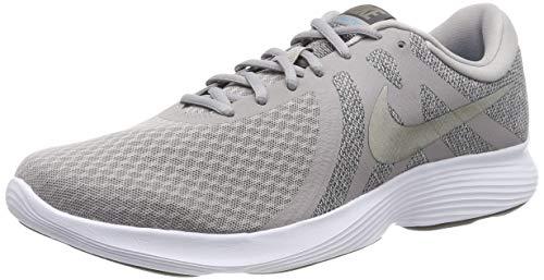 Nike Revolution 4 EU, Zapatillas de Running Hombre, Atmosphere Grey/MTLC Pewter-Thunder Grey-LT...