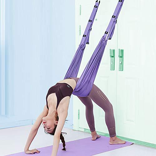XiYee Yoga Aéreo, Aerobic Stepper Fitness Ejercicio, El Yoga Antigravedad Hamaca Correa Volar...