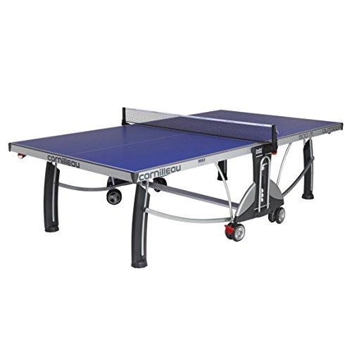 Cornilleau - Mesa de Ping Pong para Exteriores (500 m) Azul Azul