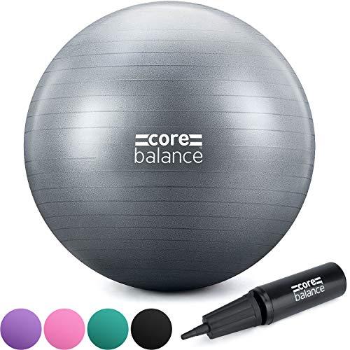 CORE BALANCE, Pelota de Pilates, Fitness, Yoga, Embarazo, Fitball para Ejercicios Gimnasia -...