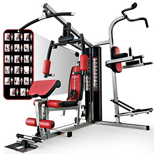 Sportstech HGX200 Multiestación musculación Premium 45en1 sirve para innumerables...