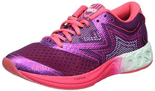 Asics Gel-Noosa FF, Zapatillas de Running para Mujer, Morado (Prune/Glacier Sea/Rouge Red),...
