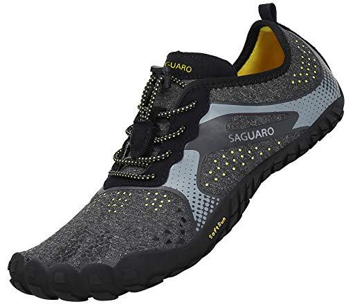 SAGUARO Barefoot Zapatos de Trail Running Hombre Mujer Minimalistas Escarpines Zapatillas de...