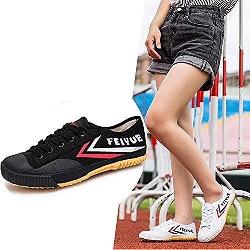 HaoLin Zapatos Antideslizantes De Moda De Artes Marciales Zapatillas De Deporte Unisex Tai-chi...
