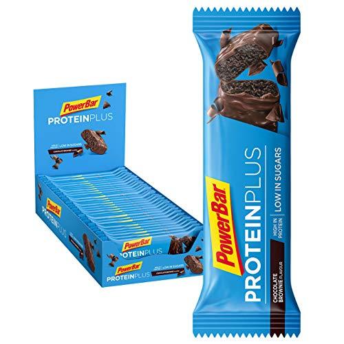 Powerbar Protein Plus Low Sugar Chocolate Brownie - Barritas Proteinas con Bajo Nivel de Azucar...