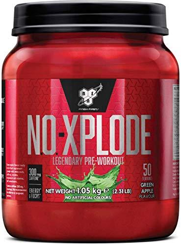 BSN Nutrition N.O.-Xplode, Suplementos Deportivos Pre Workout en Polvo con Creatina...