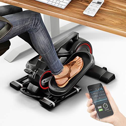¡Novedad de feria! Mini bicicleta estática con app, Stepper DFX100 - Elíptica para ejercicio...