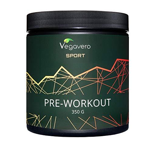 Pre Workout Mix Vegavero® Sport | L-Arginina AAKG + BCAA + Citrulina Malato + Beta Alanina +...