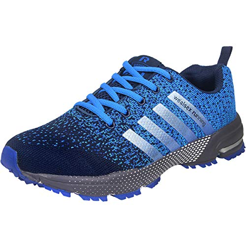 Wealsex Zapatos para Correr En Montaña Asfalto Aire Libre Deportes Zapatillas De Running para...