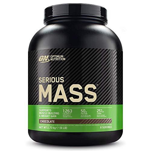 Optimum Nutrition ON Serious Mass Proteina en Polvo Mass Gainer Alto en Proteína, con...