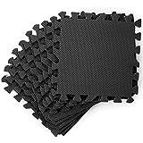 20 Esterilla de Ejercicios Interconectables, Esterilla Puzzle de Fitness, 186x96cm - Suave...