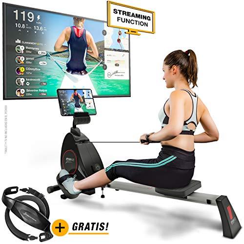 Sportstech RSX400 Máquina de Remo - Marca de Calidad Alemana -Eventos en Directo y App...