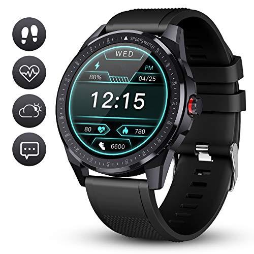 GOKOO Reloj Inteligente Hombre Smartwatch Deportivo Rastreador Actividad Reloj Inteligente...