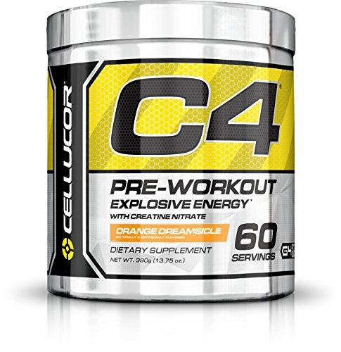 Cellucor - C4 G4 - Suplemento de preentrenamiento en polvo - Con creatina - Helado de naranja -...