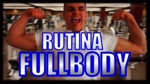 fullbody rutina entrenamiento