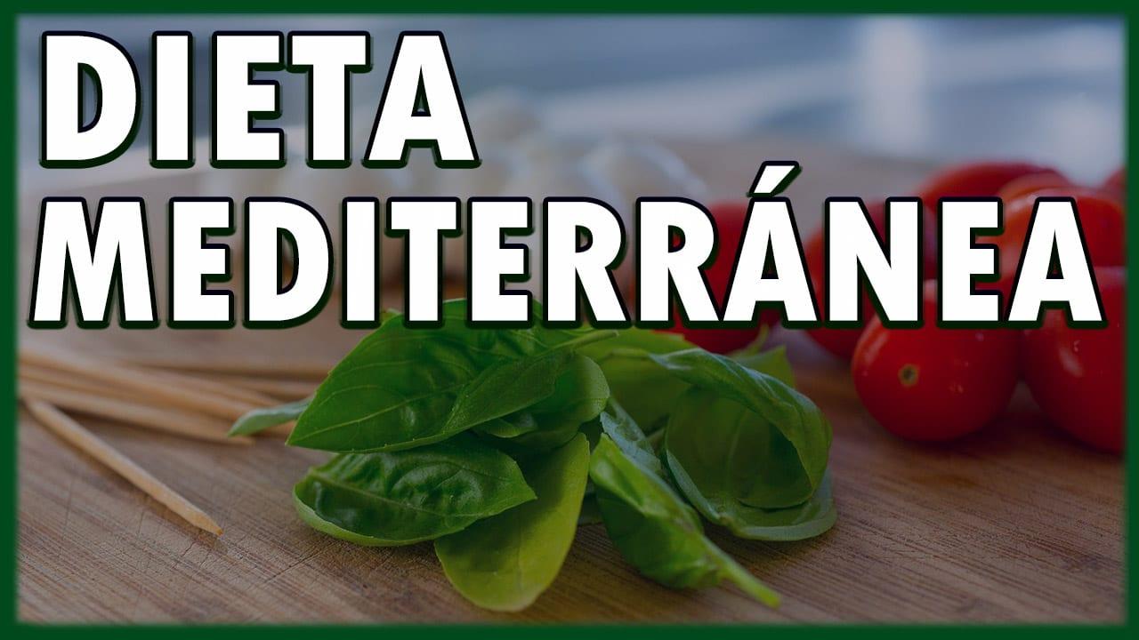 dieta meditaranea